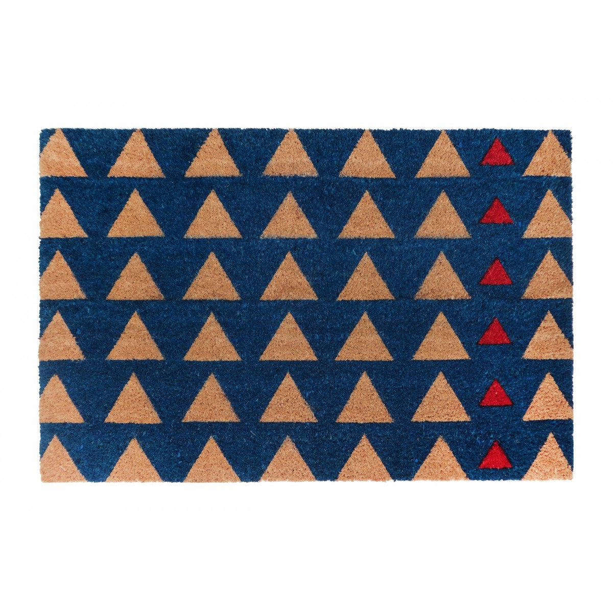 PVC Backed Coir Door Mat, Triad